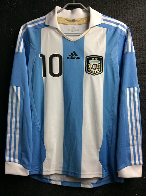 【2011】 / Argentina / Home / No.10 MESSI / Player Issue