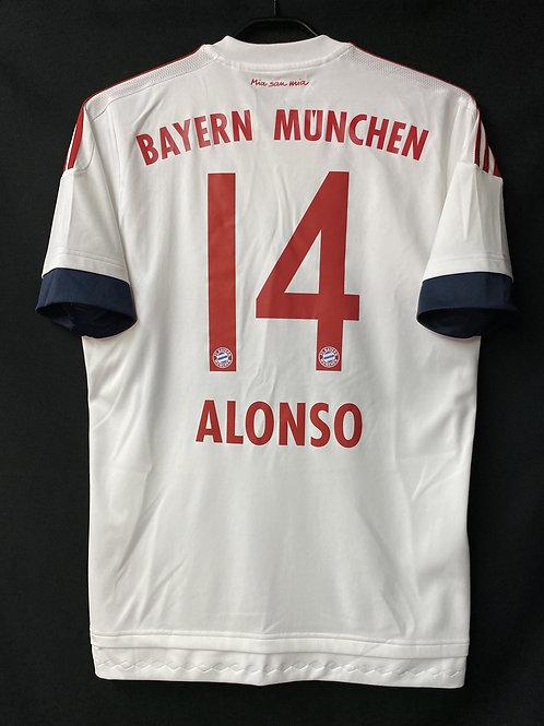 【2015/16】 / FC Bayern Munich / Away / No.14 ALONSO
