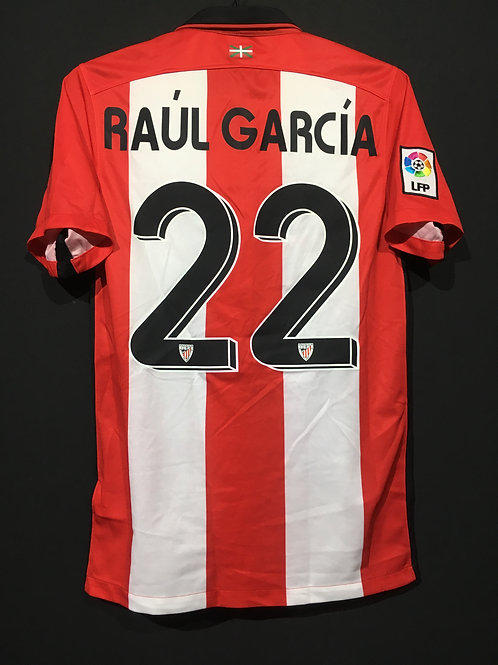 【2015/16】 / Athletic Bilbao / Home / No.22 RAUL GARCIA