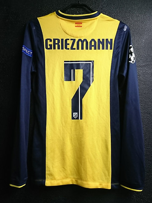 【2013/14】 / Atletico Madrid / Away / No.7 GRIEZMANN / UCL / Player Issue