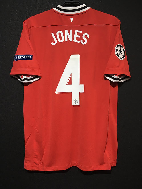 【2011/12】 / Manchester United / Home / No.4 JONES / UCL