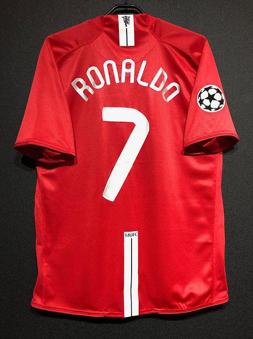 【2007/08】 / Manchester United / Home / No.7 RONALDO / UCL