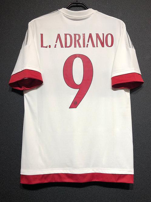 【2015/16】 / A.C. Milan / Away / No.9 L. ADRIANO