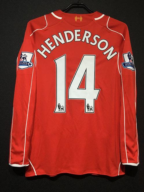 【2014/15】 / Liverpool F.C. / Home / No.14 HENDERSON