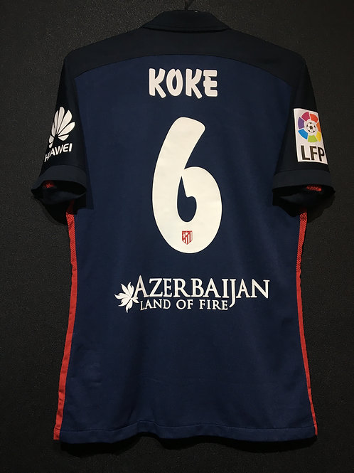 【2015/16】 / Atletico Madrid / Away / No.6 KOKE / Player Issue