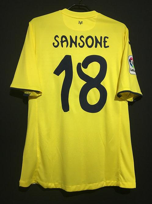 【2016/17】 / Villarreal CF / Home / No.18 SANSONE