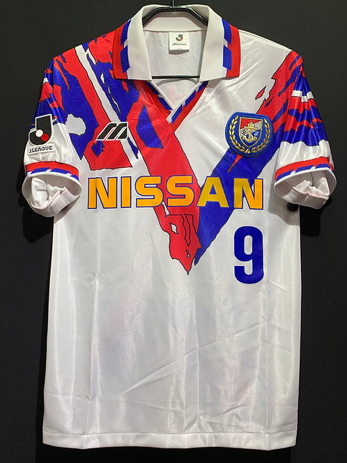 【1994/96】 / Yokohama Marinos / Away / No.9