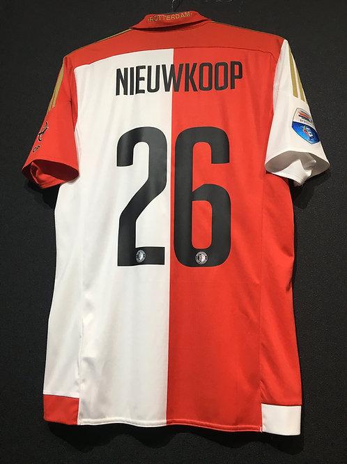 【2015/16】 / Feyenoord / Home / No.26 NIEUWKOOP
