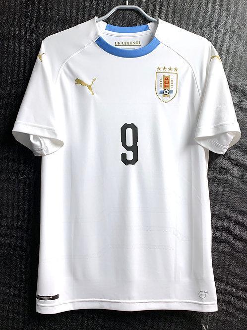 【2018】 / Uruguay / Away / No.9 L. SUAREZ