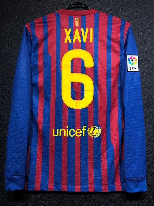 【2011/12】 / FC Barcelona / Home / No.6 XAVI