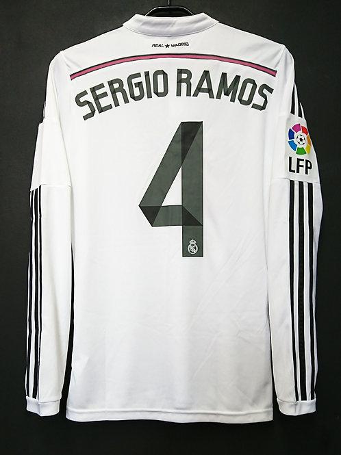 【2014】 / Real Madrid C.F. / Home / No.4 SERGIO RAMOS