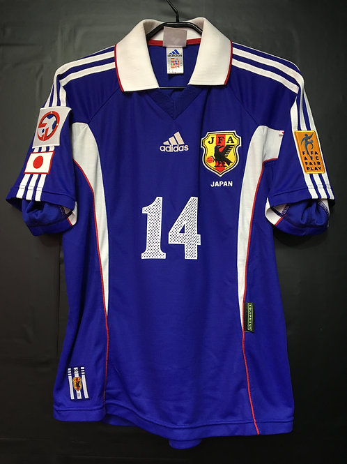 【2000】 / Japan / Home / No.14 NAKAMURA / AFC Asia Cup / Authentic