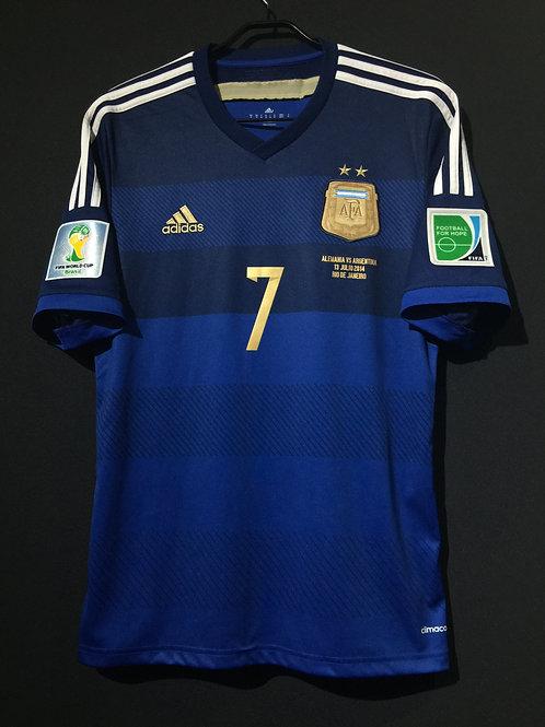 【2014】 / Argentina / Away / No.7 DI MARIA / FIFA World Cup