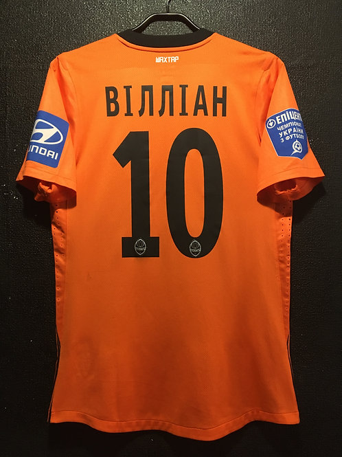 【2012/13】 / FC Shakhtar Donetsk / Home / No.10 WILLIAN / Player Issue