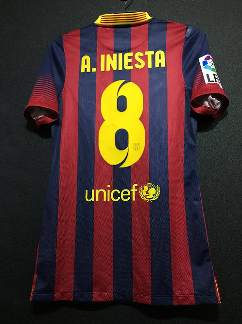 【2013/14】 / FC Barcelona / Home / No.8 A.INIESTA / Authentic