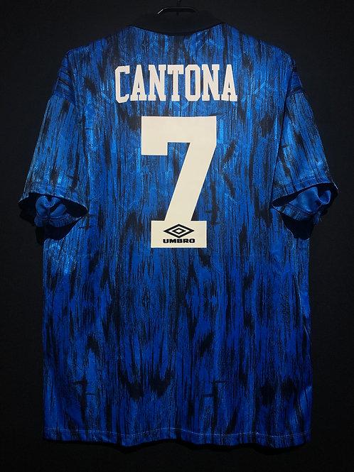 【1992/93】 / Manchester United / Away / No.7 CANTONA
