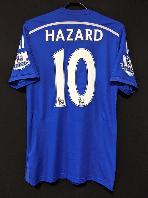 【2014/15】 / Chelsea / Home / No.10 HAZARD / Authentic
