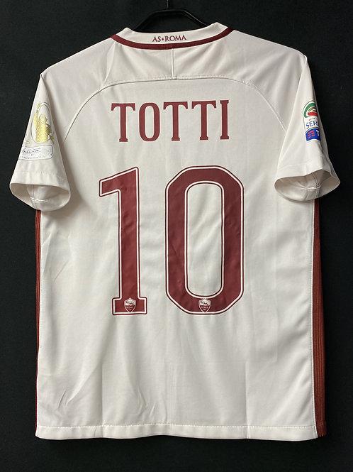 【2017】 / A.S. Roma / Away / No.10 TOTTI / TOTTI Testimonial