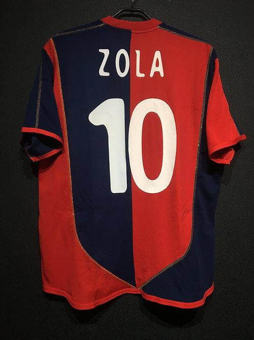 【2003/04】 / Cagliari / Home / No.10 ZOLA