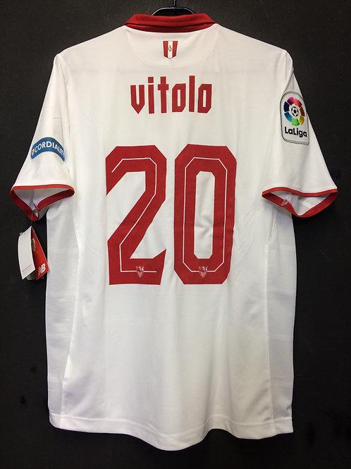 【2016/17】 / Sevilla FC / Home / No.20 VITOLO