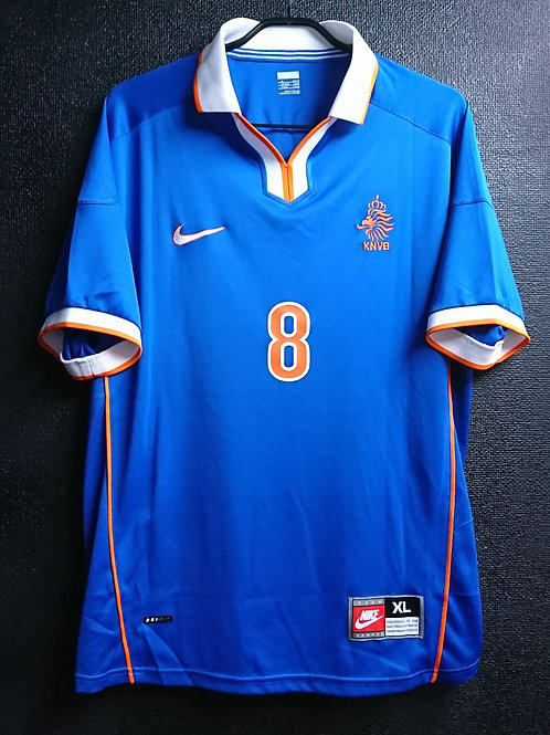 【1998/99】 / Netherlands / Away / No.8 BERGKAMP