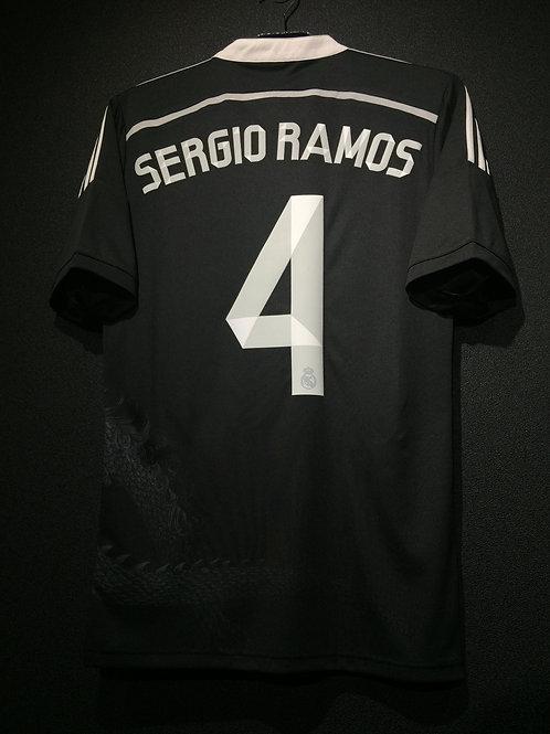 【2014】 / Real Madrid C.F. / 3rd / No.4 SERGIO RAMOS