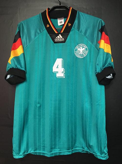 【1992/93】 / Germany / Away / No.4 KOHLER