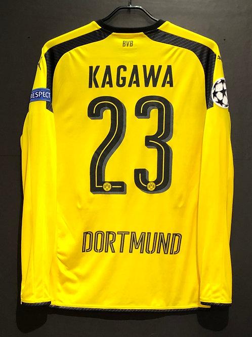 【2016/17】 / Borussia Dortmund / Cup(Home) / No.23 KAGAWA / UCL