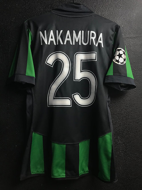 【2007/08】 / Celtic F.C. / 3rd / No.25 NAKAMURA / UCL / Player Issue