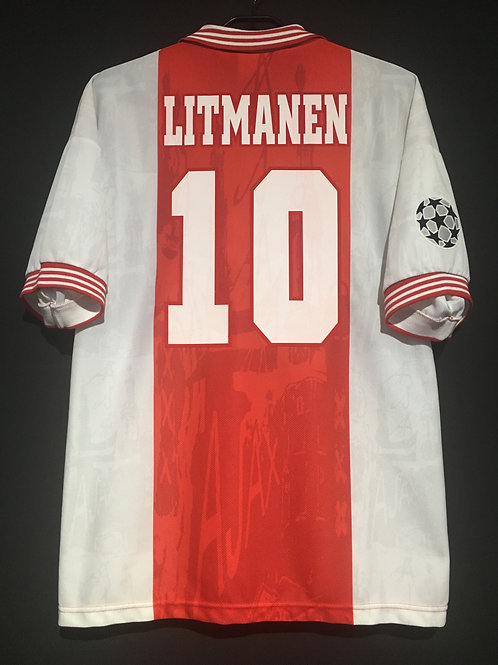【1996/97】 / Ajax / Home / No.10 LITMANEN / UCL