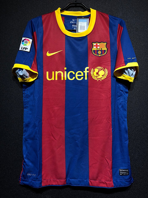 【2010/11】 / FC Barcelona / Home / Authentic