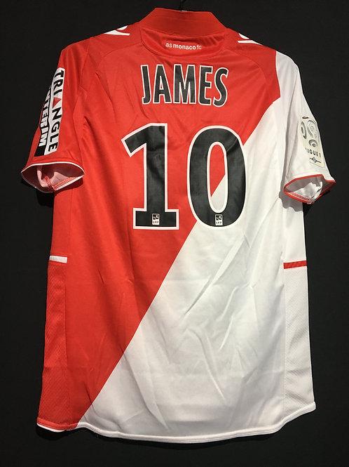 【2013/14】 AS Monaco / Home / No.10 JAMES