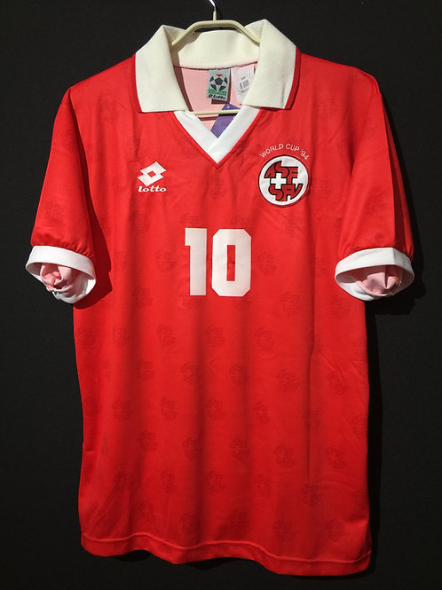 【1994】 / Switzerland / Home / No.10 SFORZA / FIFA World Cup