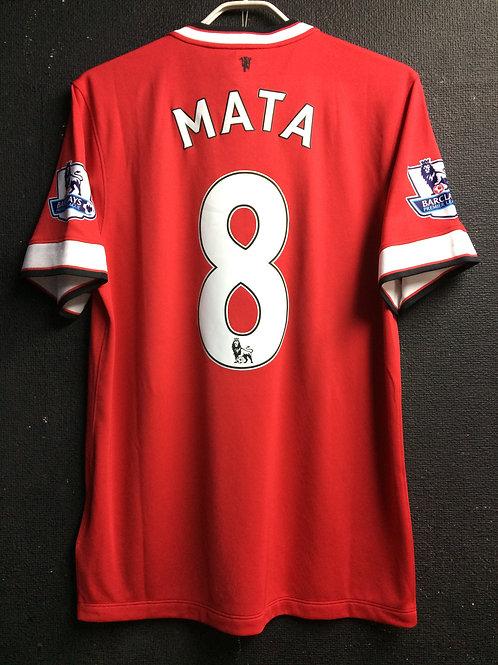 【2014/15】 / Manchester United / Home / No.8 MATA