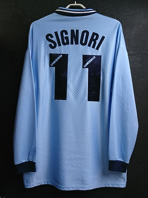【1996/97】 / S.S. Lazio / Home / No.11 SIGNORI