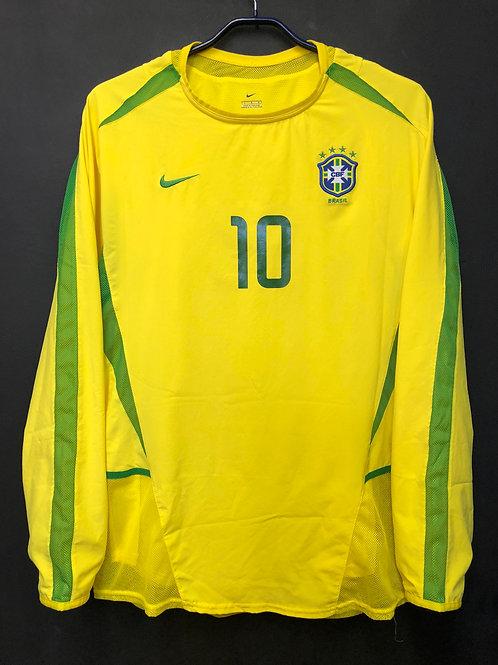 【2002】 / Brazil / Home / No.10 RIVALDO