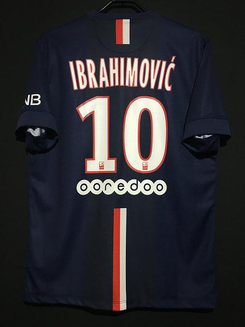【2014/15】 / Paris Saint-Germain / Home / No.10 IBRAHIMOVIC