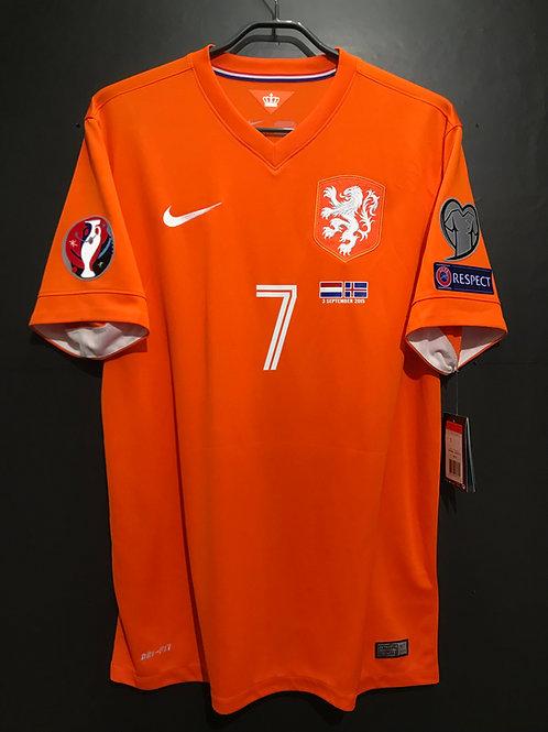 【2015】 / Netherlands / Home / No.7 MEMPHIS / UEFA EURO2012 Qualifiers
