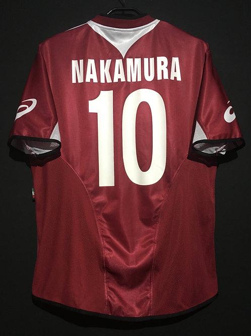 【2004/05】 / Reggina / SP / No.10 NAKAMURA / Japan Tour