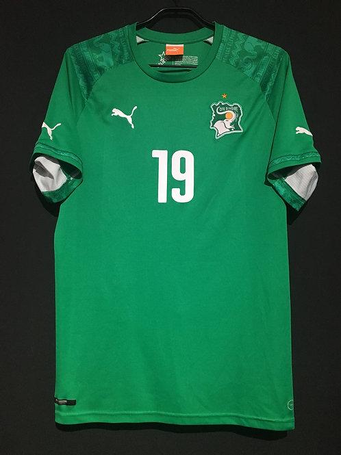 【2014/15】 / Ivory Coast / Away / No.19 TOURE YAYA