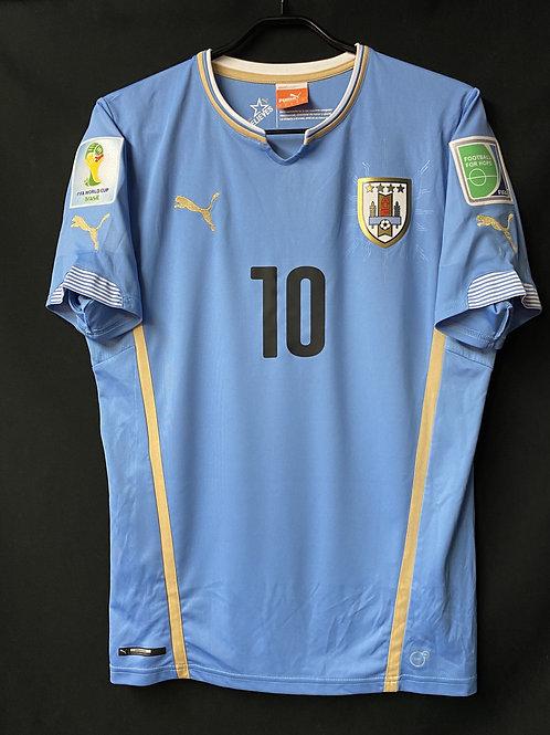 【2014】 / Uruguay / Home / No.10 FORLAN / FIFA World Cup