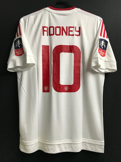 【2015/16】 / Manchester United / Away / No.10 ROONEY / The Emirates FA Cup Final