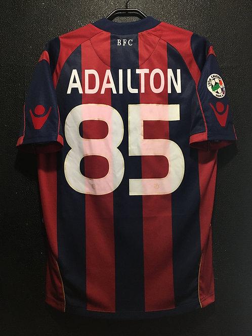 【2009/10】  / Bologna F.C. / Home / No.85 ADAILTON / 100th Anniv.