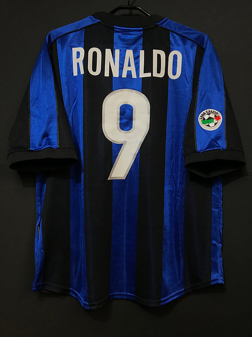 【1999/2000】 / Inter Milan / Home / No.9 RONALDO / Player Issue