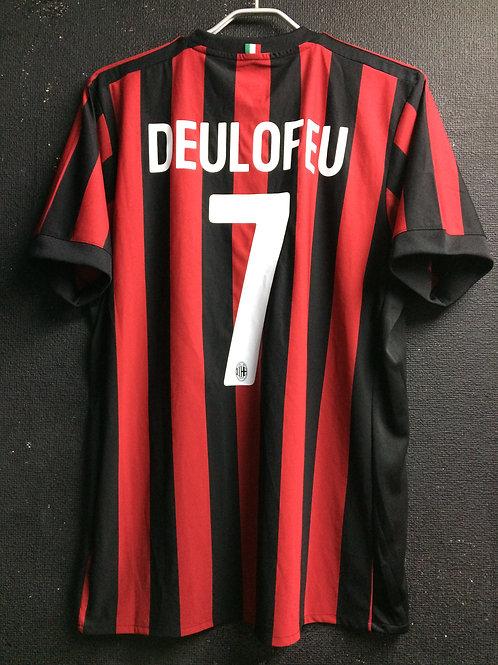 【2017】 / A.C. Milan / Home / No.7 DEULOFEU / Week 37 vs. Bologna