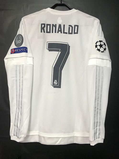 【2015/16】 / Real Madrid C.F. / Home / No.7 RONALDO / UCL