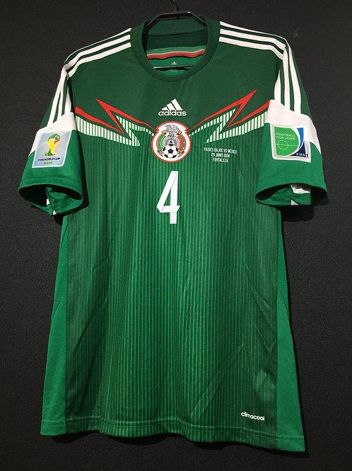 【2014】 / MEXICO / Home / No.4 R.MARQUEZ / FIFA World Cup