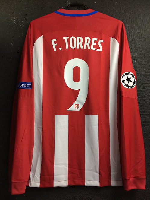 【2016/17】 / Atletico Madrid / Home / No.9 F.TORRES / UCL / Player Issue