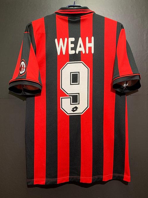 【1996/97】 / A.C. Milan / Home / No.9 WEAH