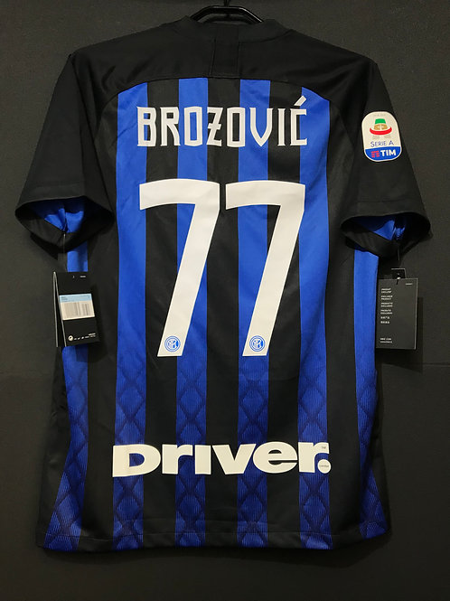 【2018/19】 / Inter Milan / Home / No.77 BROZOVIC
